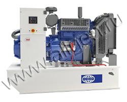 Дизель электростанция Wilson F50-1 CAL мощностью 50 кВА (40 кВт) на раме