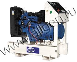 Дизель генератор Wilson P18-4 мощностью 18 кВА (14 кВт) на раме