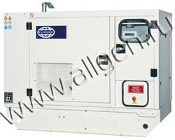 Дизель генератор Wilson P18-4 мощностью 18 кВА (14 кВт) в шумозащитном кожухе