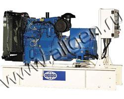 Дизель генератор Wilson P60P3 мощностью 65 кВА (52 кВт) на раме