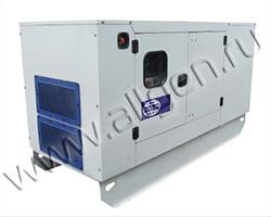 Дизель генератор Wilson P33-3 CAL мощностью 33 кВА (26 кВт) в шумозащитном кожухе