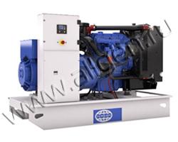 Дизель электростанция Wilson P50-3 мощностью 50 кВА (40 кВт) на раме