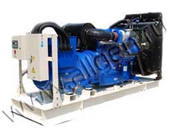 Дизель электростанция Z-Power ZP550P мощностью 550 кВА (440 кВт) на раме