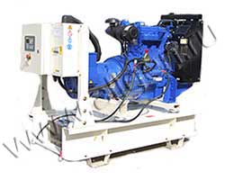 Дизель электростанция Z-Power ZP33P мощностью 33 кВА (26 кВт) на раме