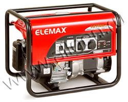 Портативный бензиновый генератор Elemax SH 3900EX-R мощностью 3.3 кВт