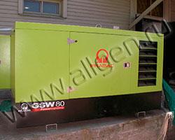 Дизельная электростанция Pramac GSW80D с наработкой