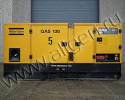 Дизельная электростанция Atlas Copco QAS 125 с наработкой