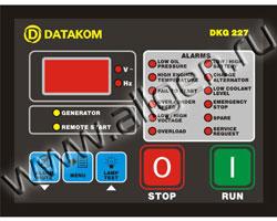 Панель управления DATAKOM DKG-227