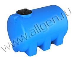 Универсальная пластиковая ёмкость H2000 на 2000 литров