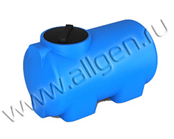 Универсальная пластиковая ёмкость H300 на 300 литров