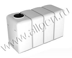 Универсальная пластиковая ёмкость K4000 oil на 4000 литров