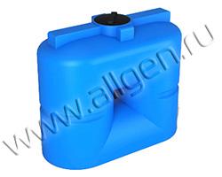 Универсальная пластиковая ёмкость S1000 oil на 1000 литров