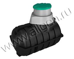 Универсальная пластиковая ёмкость U2000 oil на 2000 литров