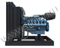 Дизельный двигатель Baudouin 12M26D902E200