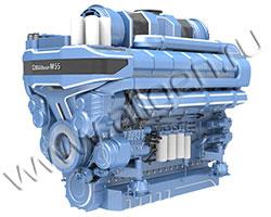 Дизельный двигатель Baudouin 12M55G2300/5 мощностью 2300 кВт