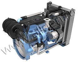 Дизельный двигатель Baudouin 4M06G25/5