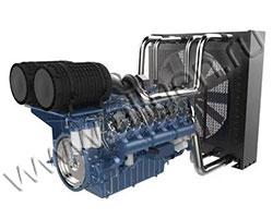 Дизельный двигатель Baudouin 6M33D670E200