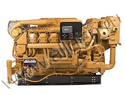 Дизельный двигатель Caterpillar 3512B-HD TA