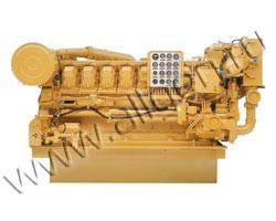 Дизельный двигатель Caterpillar 3516 мощностью 1492 кВт