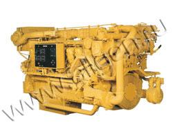 Дизельный двигатель Caterpillar 3516B HD мощностью 1850 кВт