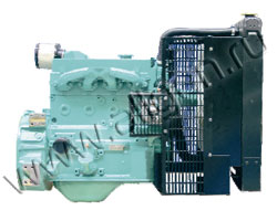 Дизельный двигатель Cummins China 4B3.9G1 мощностью 27 кВт