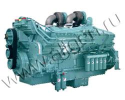 Дизельный двигатель Cummins KTA50G3 мощностью 1227 кВт