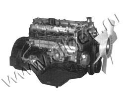 Дизельный двигатель Isuzu 6BG1 мощностью 59 кВт