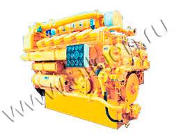 Дизельный двигатель Jichai A12V190L мощностью 1200 кВт