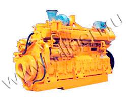 Дизельный двигатель Jichai H16V190ZL мощностью 2640 кВт