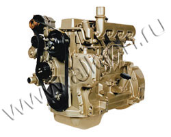Дизельный двигатель John Deere 4045HF120 мощностью 97 кВт