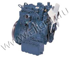 Дизельный двигатель Kubota D1105 Turbo