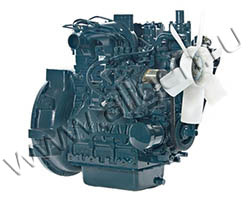 Дизельный двигатель Kubota D1703-E2BG