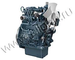 Дизельный двигатель Kubota D905-E2BG