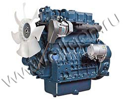 Дизельный двигатель Kubota V3800DI-T-K3A