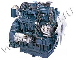 Дизельный двигатель Kubota V3800DI-T мощностью 74 кВт