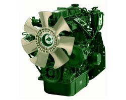 Дизельный двигатель Lister Petter DWS4 мощностью 32 кВт