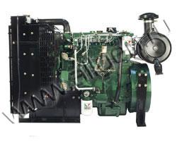 Дизельный двигатель Lister Petter GW4 мощностью 44 кВт