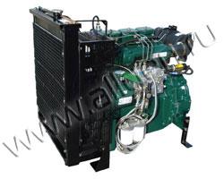 Дизельный двигатель Lister Petter SW25 мощностью 28 кВт