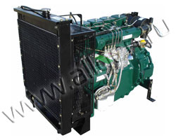 Дизельный двигатель Lister Petter SW30 мощностью 34 кВт