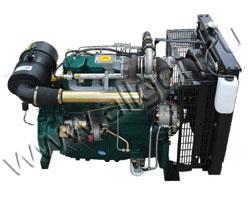 Дизельный двигатель Lister Petter SW40 мощностью 45 кВт