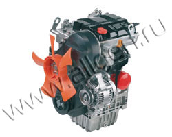 Дизельный двигатель Lombardini LDW 502
