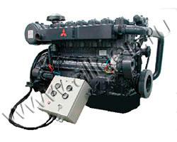 Дизельный двигатель Mitsubishi 6D24-E1 мощностью 137 кВт