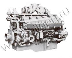 Дизельный двигатель Mitsubishi S12A2-PTA мощностью 724 кВт