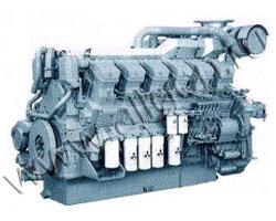 Дизельный двигатель Mitsubishi S12H-PTA-S мощностью 1031 кВт
