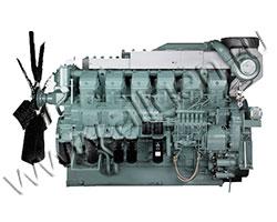 Дизельный двигатель Mitsubishi S12R-F1PTAW2