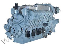 Дизельный двигатель Mitsubishi S12R-PTA мощностью 1220 кВт