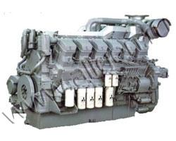 Дизельный двигатель Mitsubishi S12R-PTA2 мощностью 1315 кВт