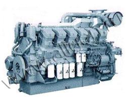 Дизельный двигатель Mitsubishi S12R-PTAA2 мощностью 1413 кВт