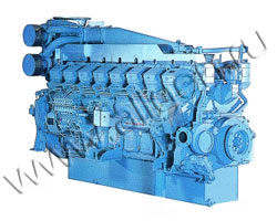 Дизельный двигатель Mitsubishi S16R-PTAA2 мощностью 1895 кВт