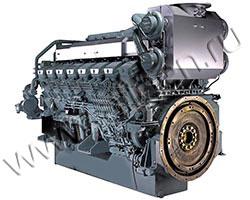 Дизельный двигатель Mitsubishi S16R2-PTAW-E